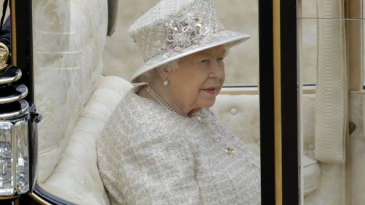 UK's Queen Elizabeth II marks official birthday with pomp and parade