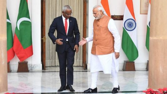 Indian PM Modi arrives in Maldives in first trip since reelection