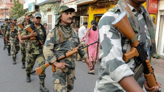 4 dead in shootout between rival Indian political parties
