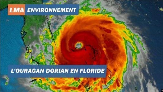 Duufaanta Dorian oo ku wajahan Florida